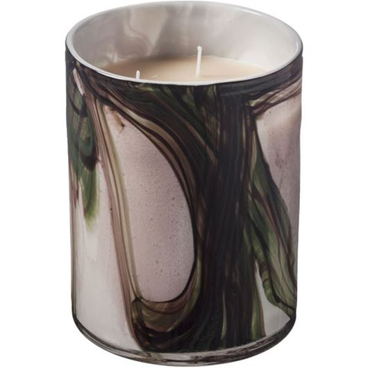 Picture of ECCENTRA candle h20cm green