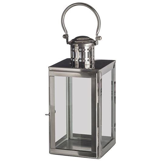 Picture of LILLIAN lantern h36cm nickel