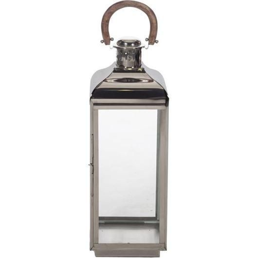 Picture of ARABELLA lantern h76cm nickel