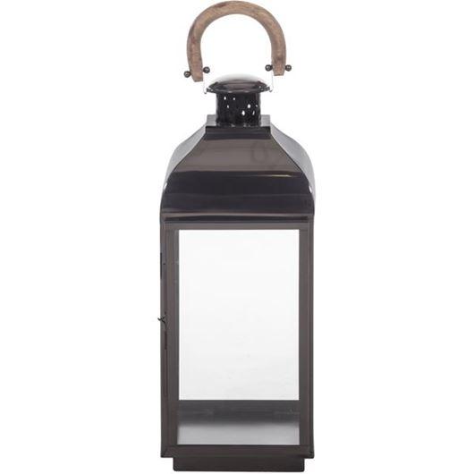 Picture of OSCAR lantern h67cm black