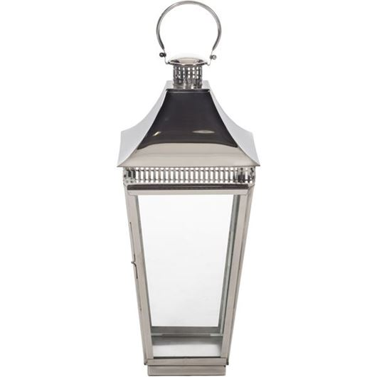 Picture of OLIVER lantern h78cm nickel