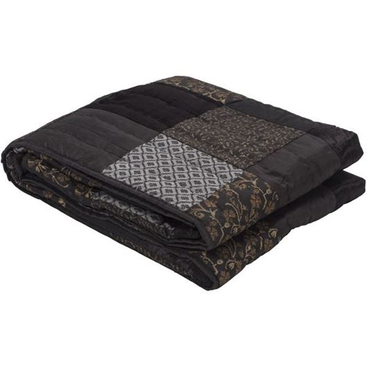 Picture of BAANI bedspread 230x250 grey
