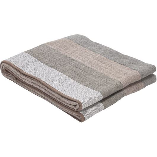 Picture of ABAMI bedspread 230x250 grey