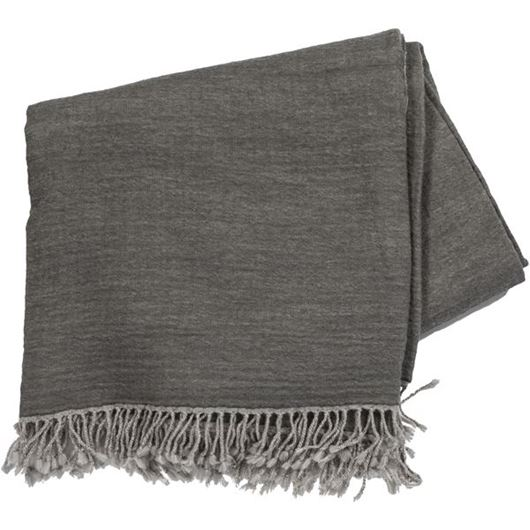 Picture of ABRYA throw 150x200 grey