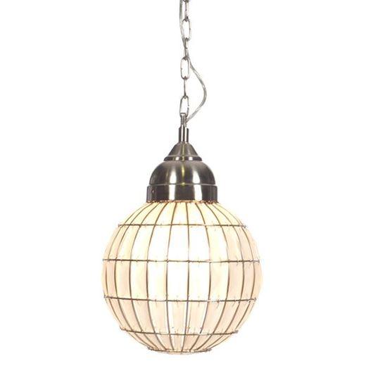 Picture of ODELENE pendant lamp d28cm white