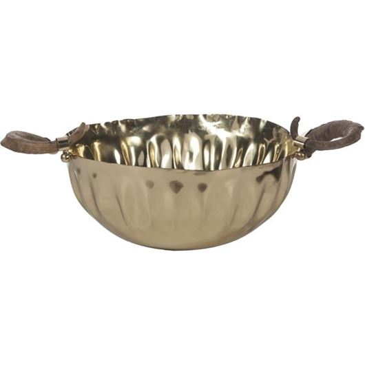 Picture of ZEKE bowl 41x59 brass