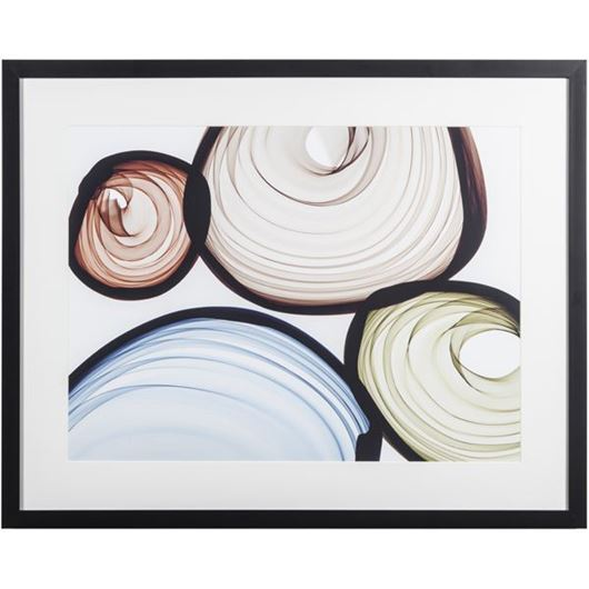 Picture of Framed Print Industrial Feel II 90x72 black