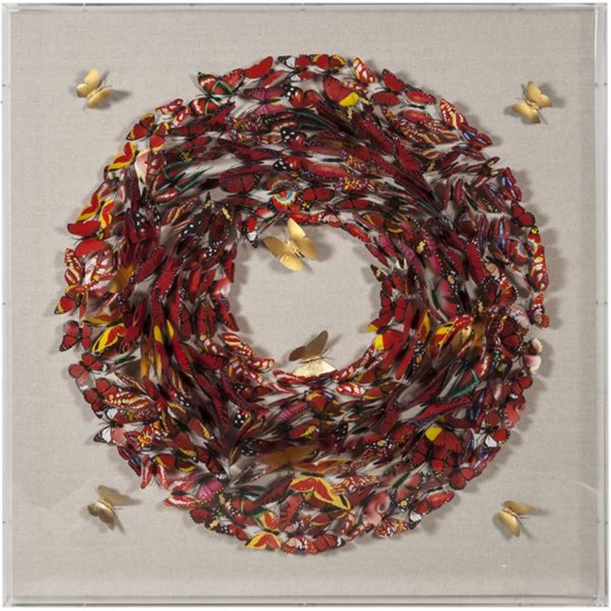 Picture of HOLLI wall decoration 90x90 multicolour