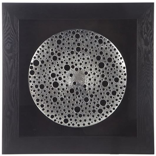 Picture of JUNAR wall decoration 90x90 black