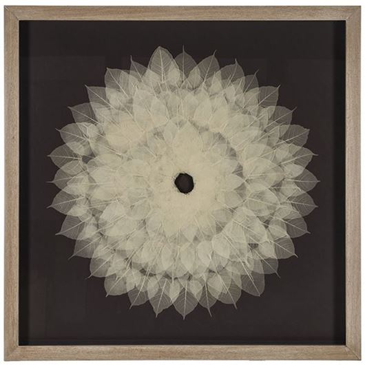 Picture of LILAH wall decoration 120x120 white