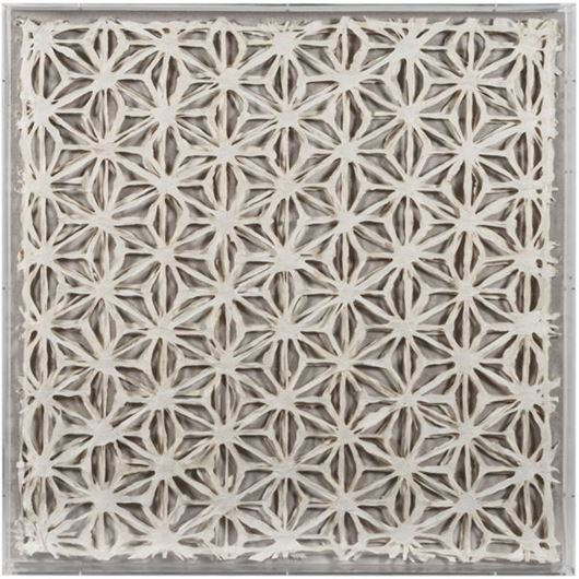 Picture of PENNA wall decoration 90x90 cream