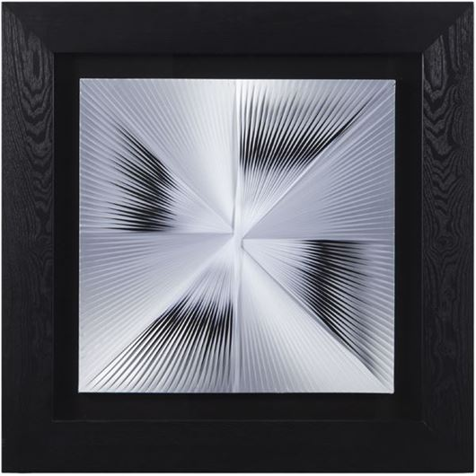 Picture of HEMA wall decoration 90x90 black