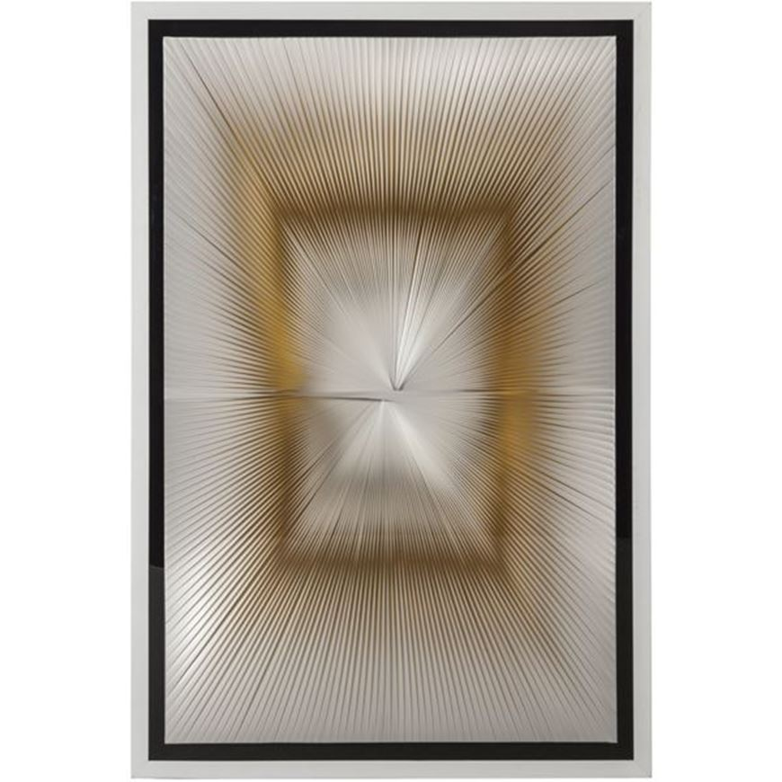 Picture of OLLIE B wall decoration 80x120 white