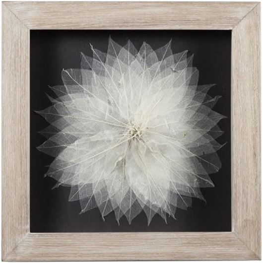 Picture of SIMONE wall decoration 45x45 white