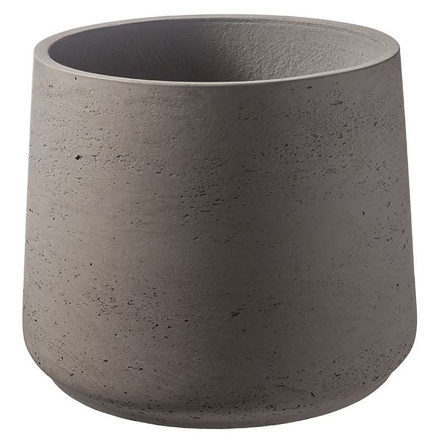 Picture of CEMENT planter h20cm dark grey