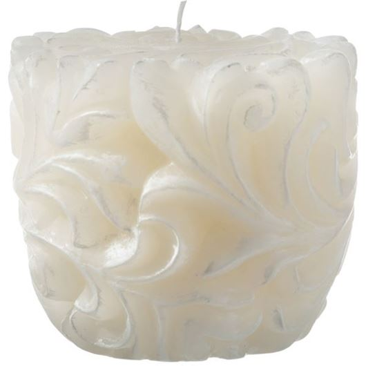 Picture of LETTA candle 11x10 cream