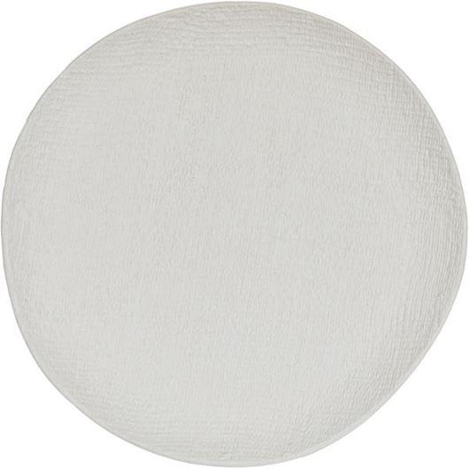 Picture of HESSIAN platter d39cm white