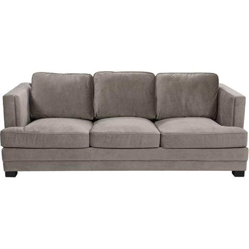 STEN sofa 3 microfibre taupe