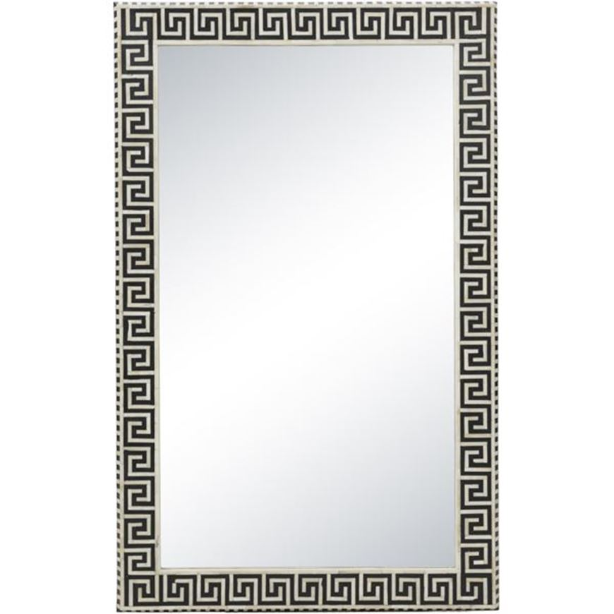 Picture of CHANNEL mirror 147x92 black and white