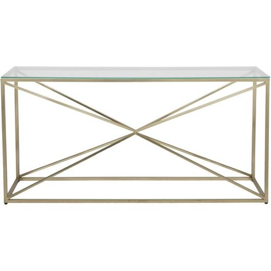 Picture of KOON console 160x45 clear/gold