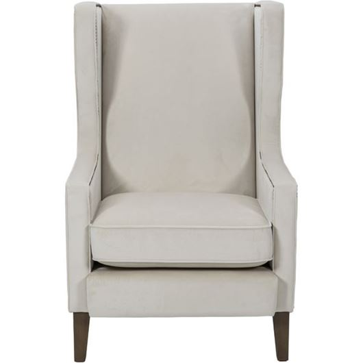 Picture of WEST wing chair white