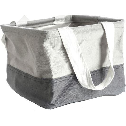 Picture of CRUNCH mini tote grey