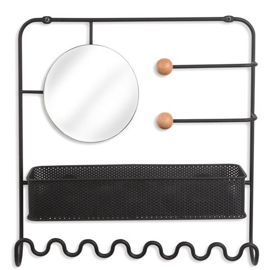 Picture of ESTIQUE jewellery holder black