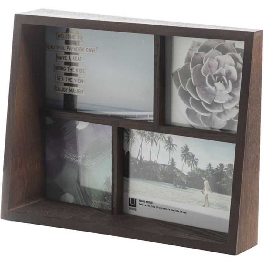 Picture of EDGE photo frame 4 brown