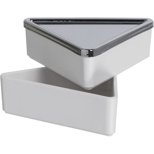 Picture of TRINITY jewellery box white