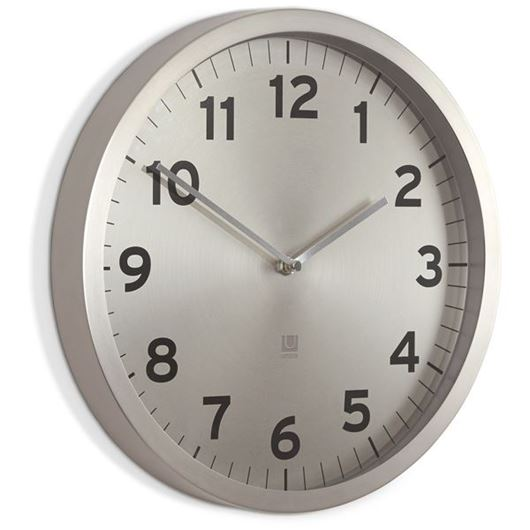 Picture of ANYTIME clock d30cm nickel