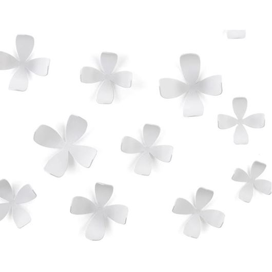 Picture of WALLFLOWER wall decoration set of 10 white