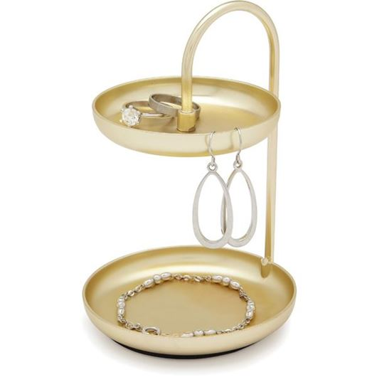Picture of POISE ring dish brass