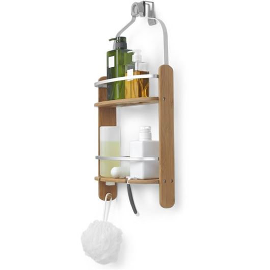 Picture of BARREL shower caddy natural