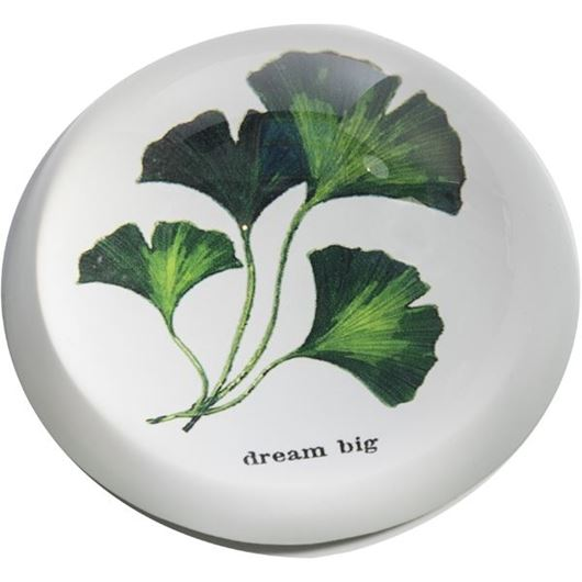 Picture of HANNA paperweight d8cm green