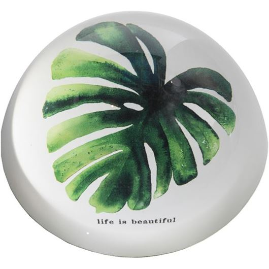 Picture of LANNA paperweight d8cm green