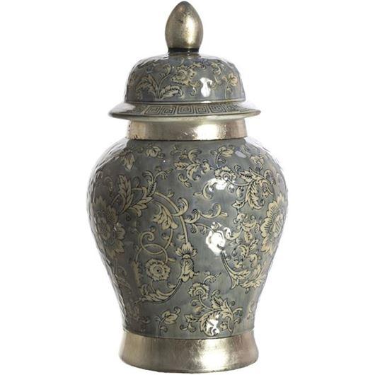 Picture of ESTELA jar with lid h43cm multicolour