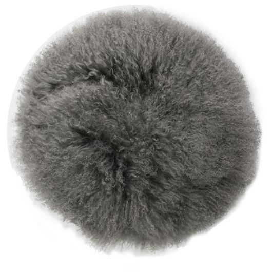 Picture of XIA cushion d40cm grey