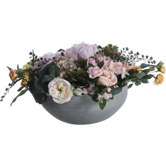 Picture of MIX arrangement h30cm pink/white