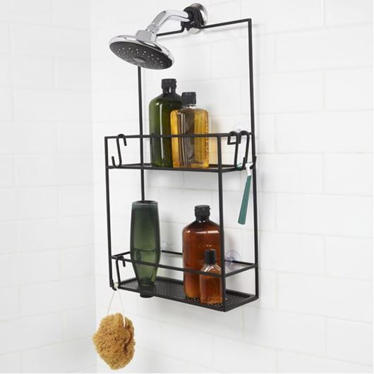 Picture of CUBIKO shower caddy black