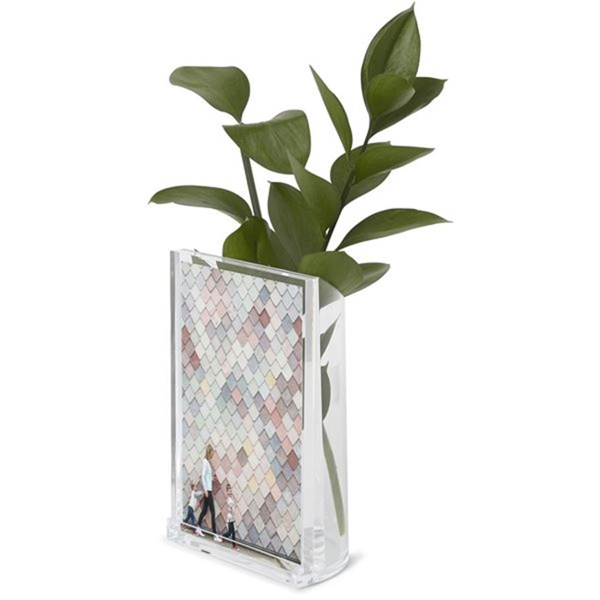 Picture of OPTIC photo frame 10x15 with holder clear