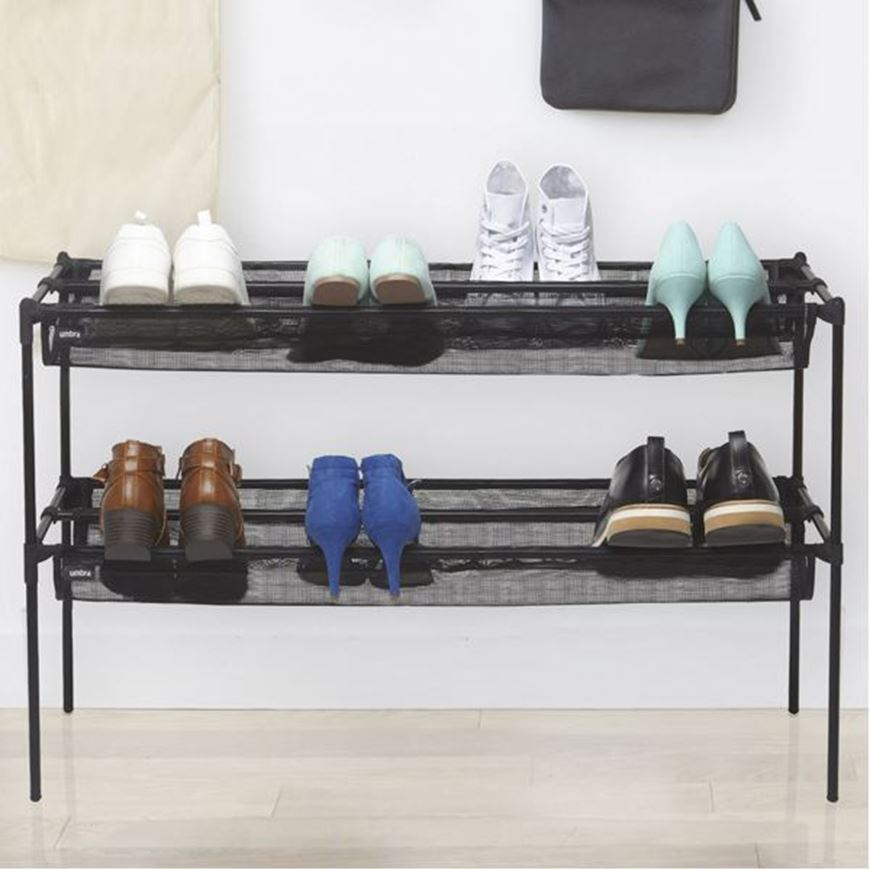 Picture of SLING shoe rack black