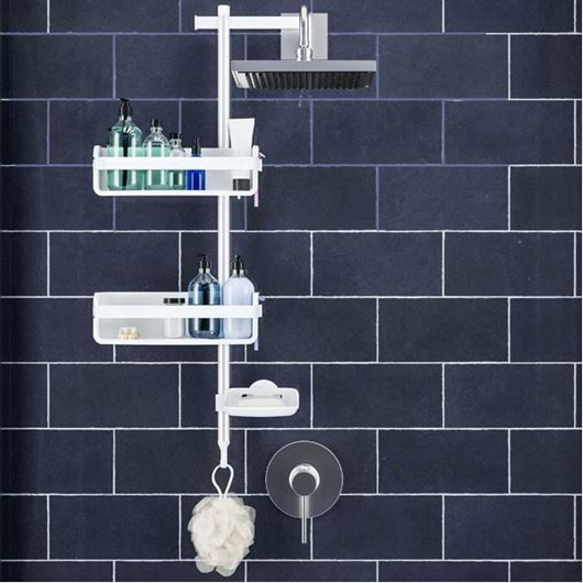 Picture of FLIPSIDE shower caddy white/silver