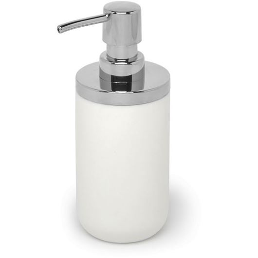 Picture of JUNIP soap pump white/stainless steel