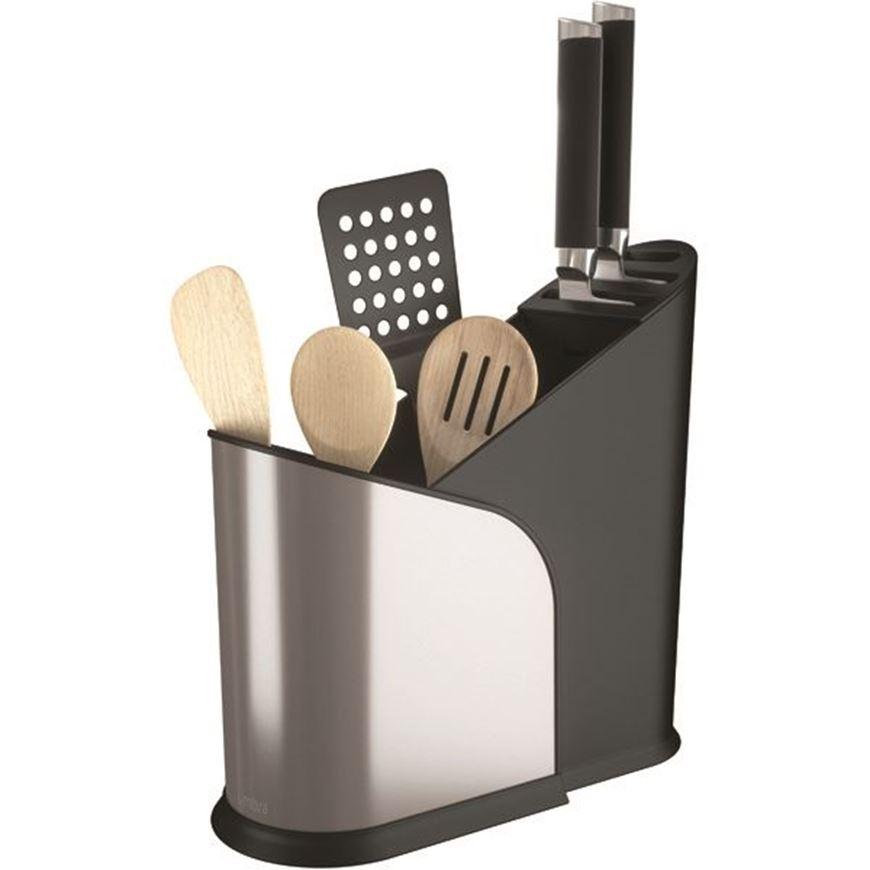 Picture of FURLO expanding utensil holder black/nickel