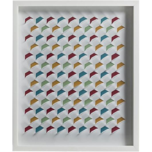 Picture of HIVE wall decoration white