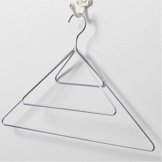 Picture of TRINITY scarf hanger silver