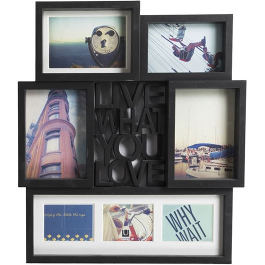 Picture of MOTTO photo frame 7 black