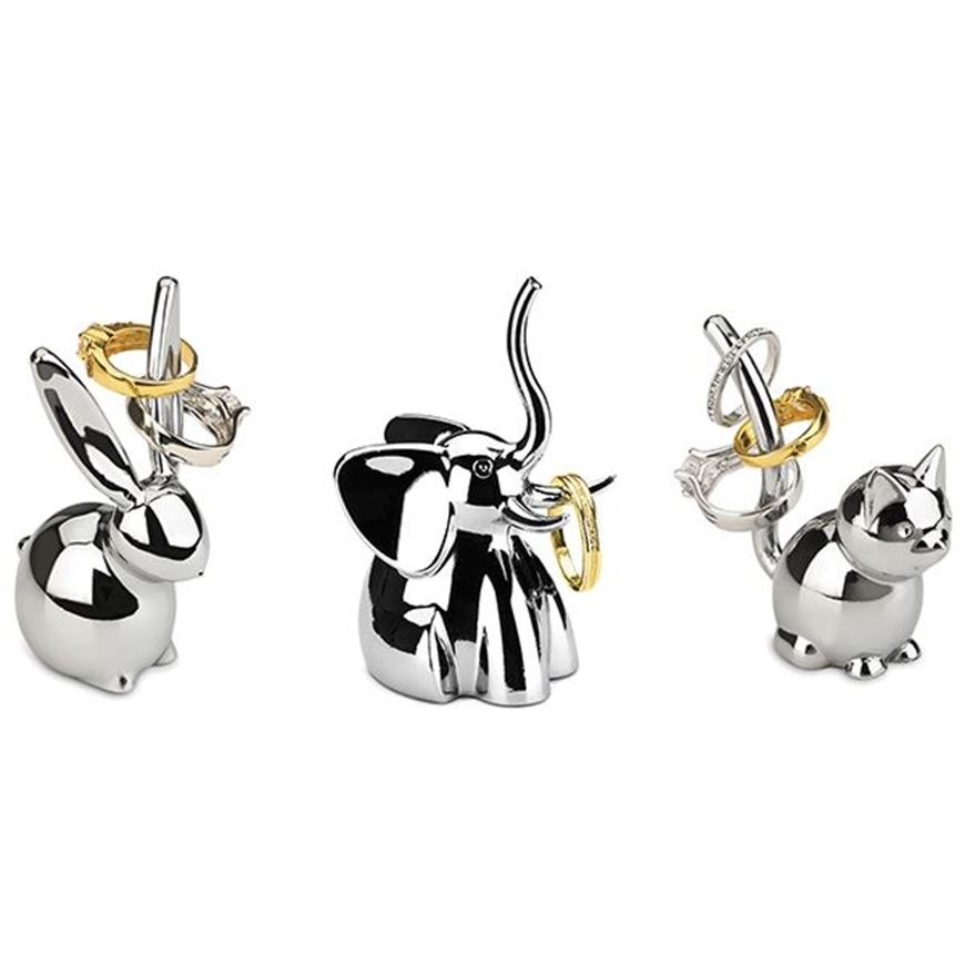Picture of ZOOLA ring holder set of 3 stainless steel