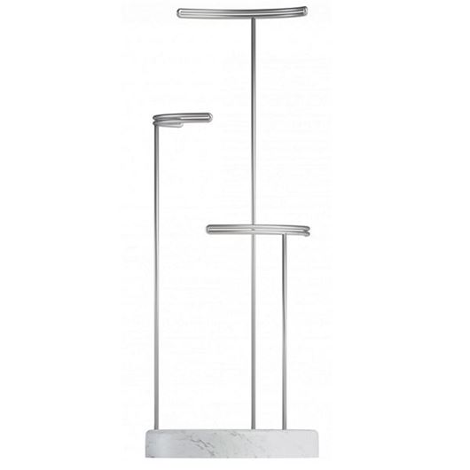 Picture of TESORA jewellery stand nickel/white