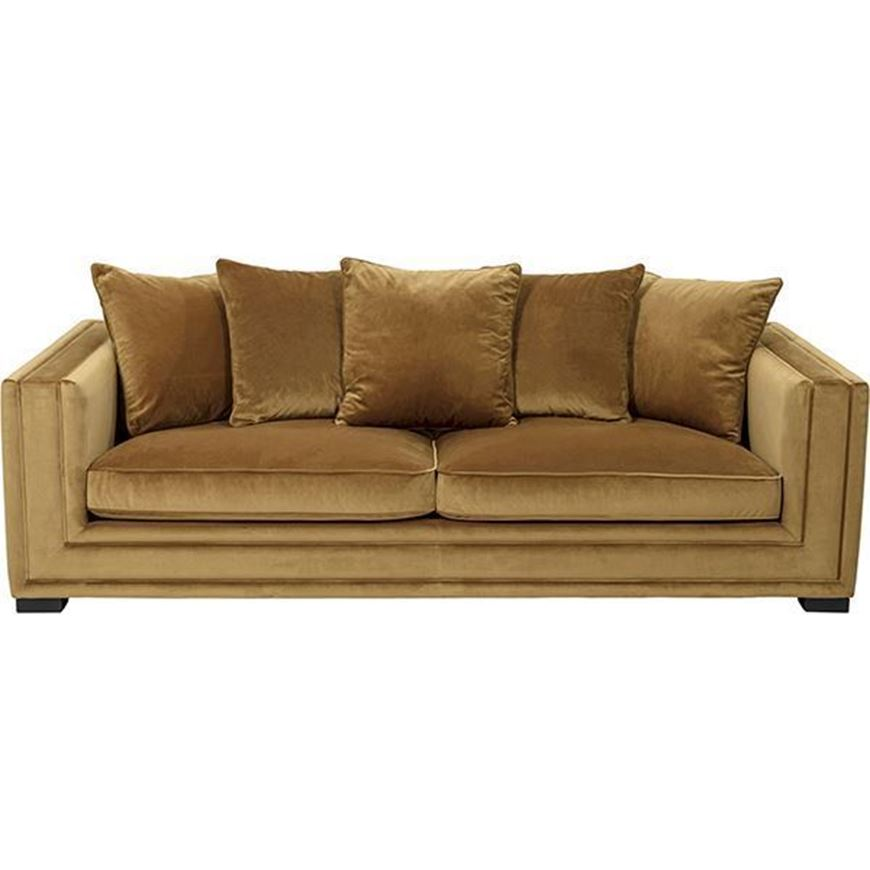 KARL sofa 3 brown